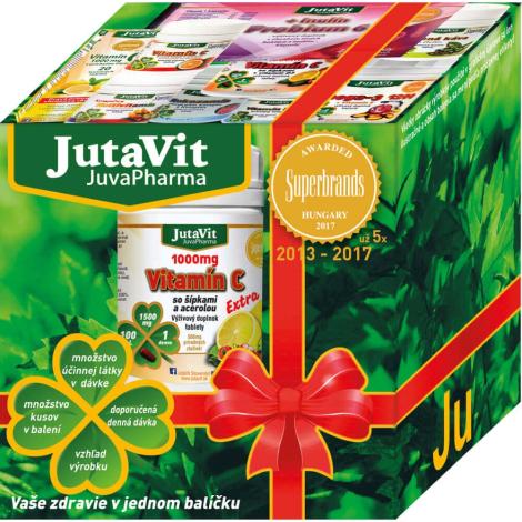 JutaVit pre mužov Darčekové balenie 4 druhy výživových doplnkov 1 ks - JutaVit Pharma s.r.o