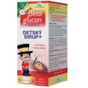 Betaglucan Detský sirup lesná jahoda 100 ml