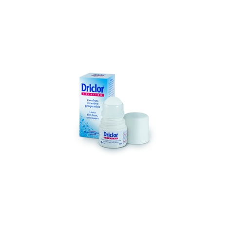 Driclor antiperspirant 20 ml roll-on