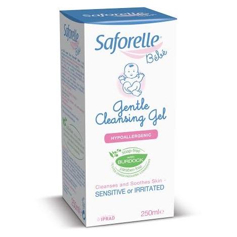 Saforelle jemný čistiaci gél pre deti 250 ml