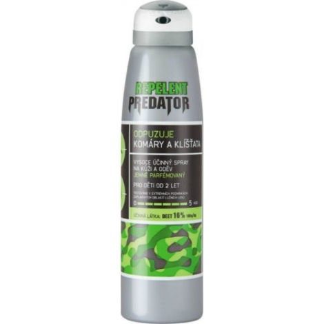 PREDATOR repelent spray 16 % 150 ml
