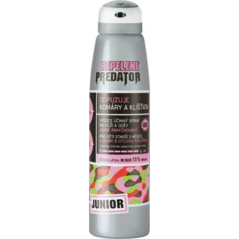 PREDATOR JUNIOR repelent spray 15 % 150 ml