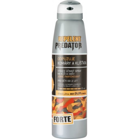 PREDATOR FORTE repelent spray 24,9 % 150 ml