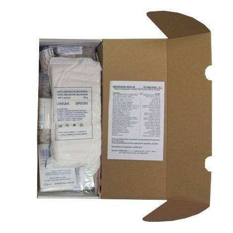 Panacea Náhradná náplň do lekárničky Standard 1ks - Panacea