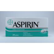 Aspirin 20 tabliet