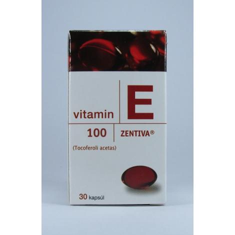 Vitamín E Zentiva 100mg 30 cps
