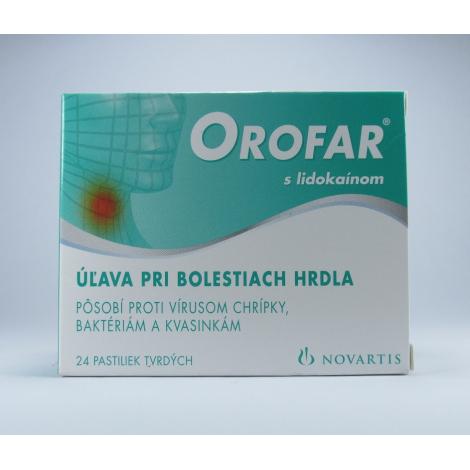 Orofar pastilky