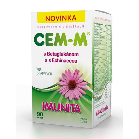 CEM-M pre dospelých IMUNITA 90 tbl