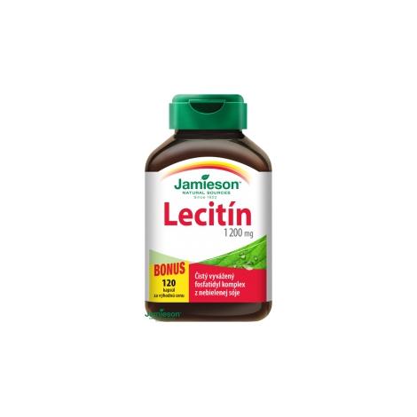 Jamieson Lecitín 1200 mg 100 + 20 cps.