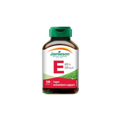 Jamieson Vitamín E 400 IU 100 cps