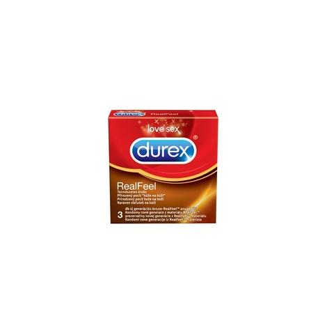 Durex RealFeel kondómy 3 ks - Reckitt Benckiser