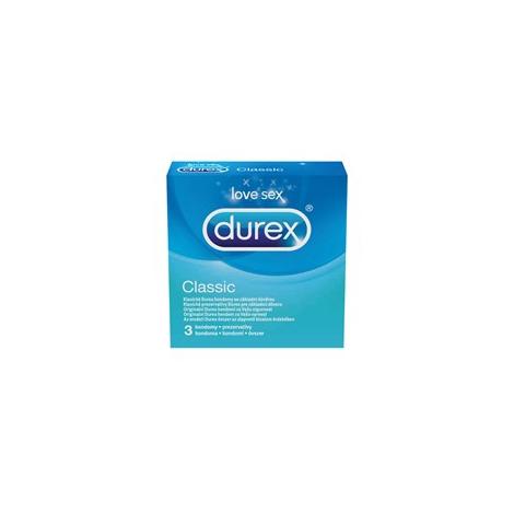 Durex Classic kondómy 3 ks - Reckitt Benckiser