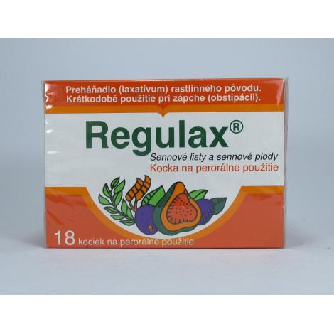 Regulax-kocky 18 ks