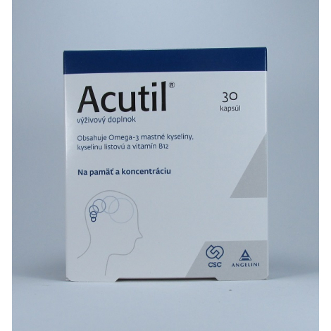 Acutil 30 cps - CSC Pharmaceuticals