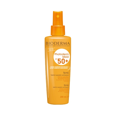 Bioderma Photoderm MAX Sprej SPF 50+ 200 ml - Bioderma
