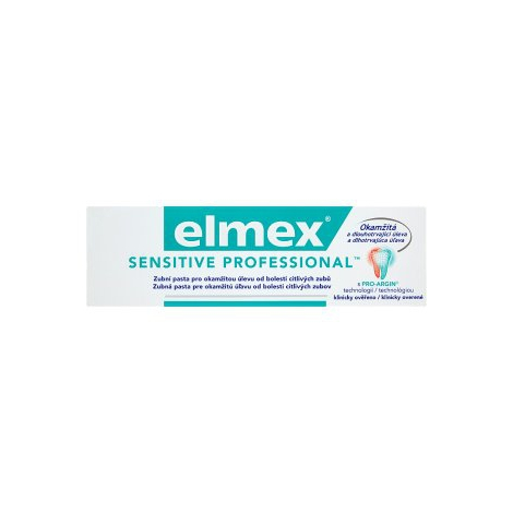 Elmex Sensitive Professional zubná pasta 75 ml
