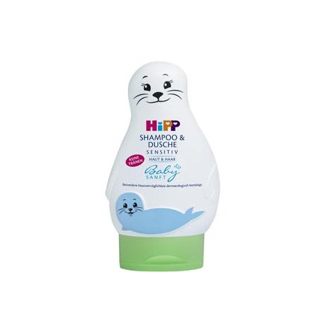 """Hipp Baby SANFT Šampón """"Vlasy & Telo"""" 200 ml - Hipp"""