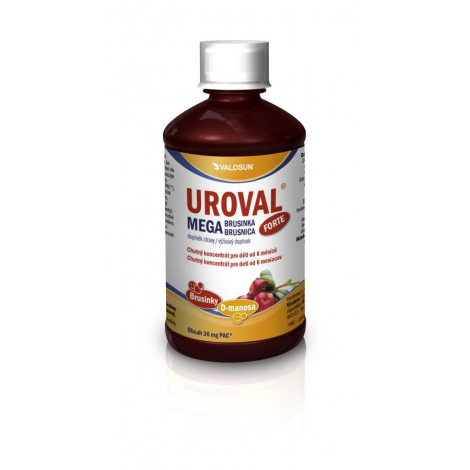 UROVAL Megabrusnica FORTE sirup 500 ml