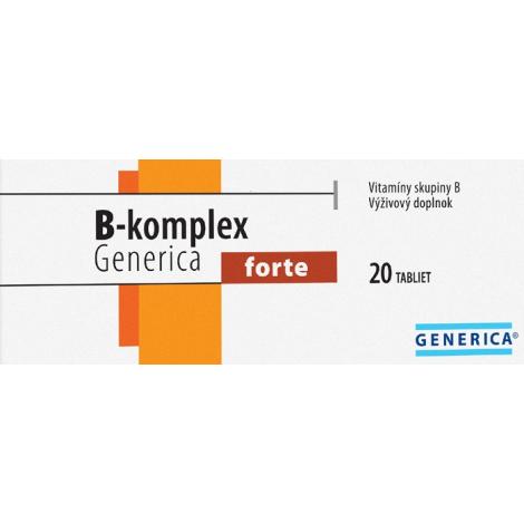 Generica B - Komplex forte 20 tabliet