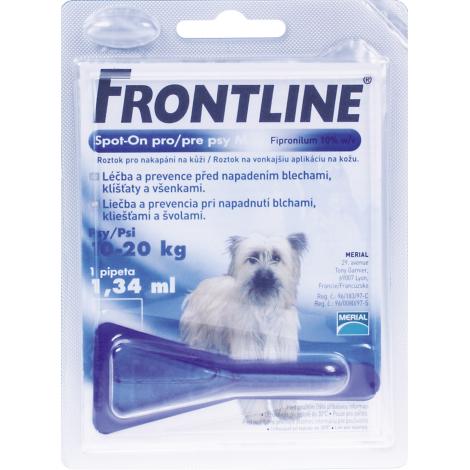 Frontline spot on pre psy  M (10- 20 kg)