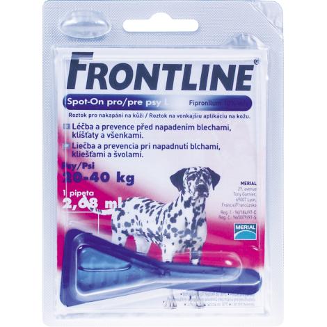 Frontline spot on pre psy  L (20- 40 kg)