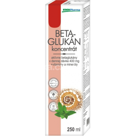 Edenpharma Betaglukán koncentrát junior 250 ml