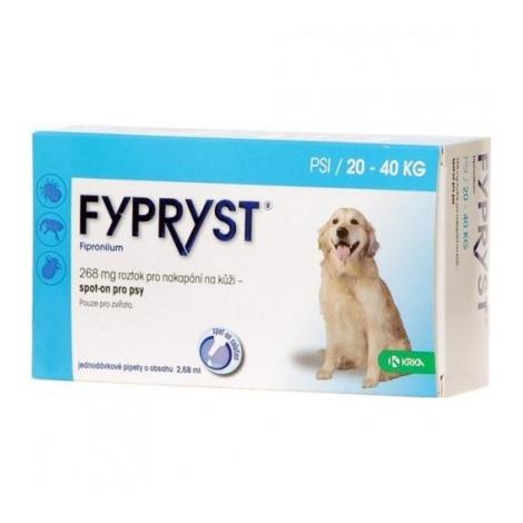 Fypryst spot pes L 20-40 kg 1 ks - Krka