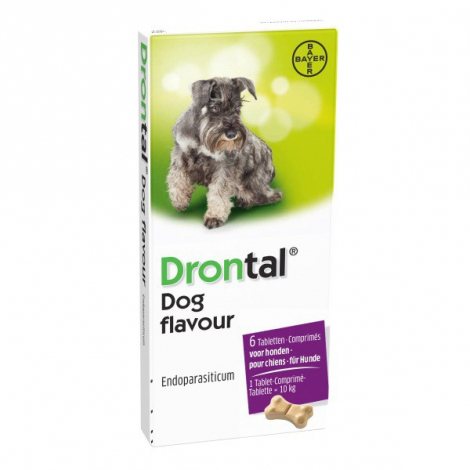 Drontal Dog Flavour 150/144/50mg  tabety