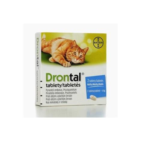 Drontal pre mačky 2 tablety - Bayer
