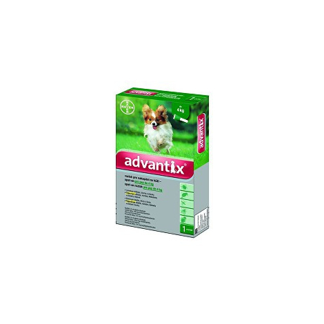 Advantix Spot On pre psy do 4kg 4x0,4 ml