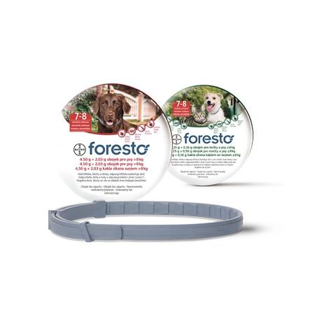 Foresto antiparazitárny obojok pre psy nad 8 kg - Bayer
