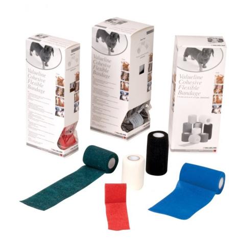 Valueline bandáž pre zvieratá červená 10x450 cm - Vetis