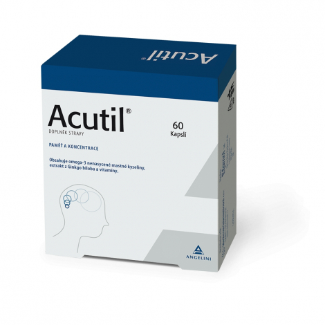 Efamol Ltd. Acutil 60 kapsúl - CSC Pharmaceuticals