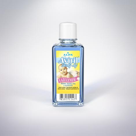 Aviril detský olej s azulénom 50 ml - ALPA, a.s.