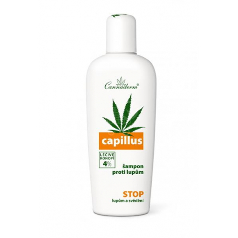 Cannaderm Capillus šampón proti lupinám 150 ml - Simply you pharmaceuticals