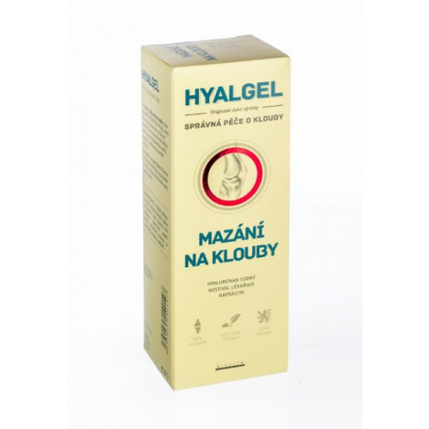 Hyalgél masť na kĺby 250 ml