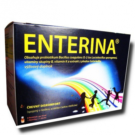 Inpharm Enterina 8 x 10 ml