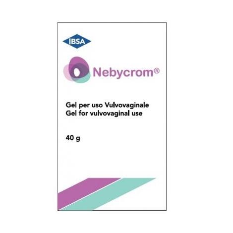 Nebycrom vulvovaginálny gél 40g