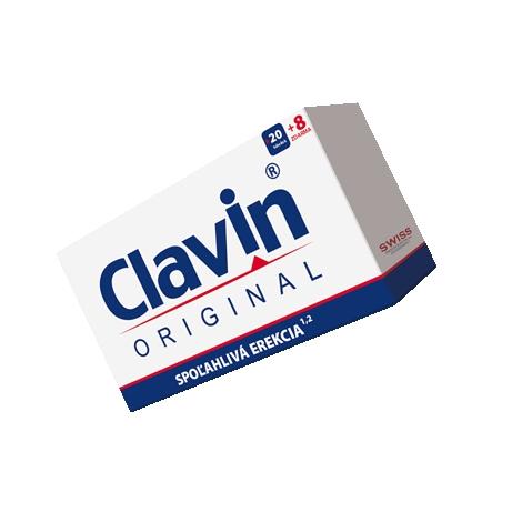Clavin original 20 kapsúl + 8 zdarma