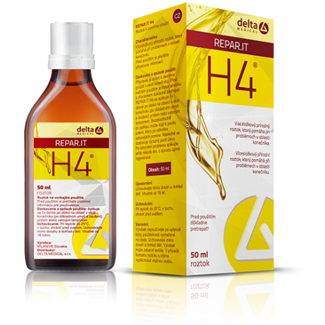 H4 Repar. IT roztok 50 ml -  DELTA MEDICAL s.r.o.
