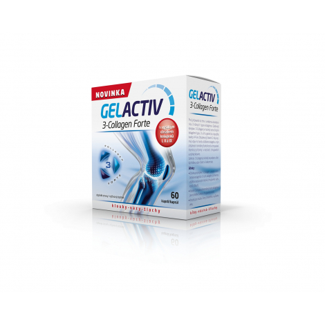 GelActiv 3-Collagen Forte 60 cps