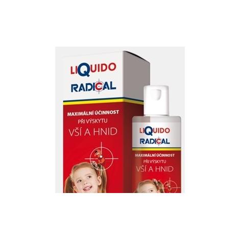 LiQuido RADICAL pri výskyte vší a hníd 125 ml + hrebienok a čiapka - Simply you pharmaceuticals