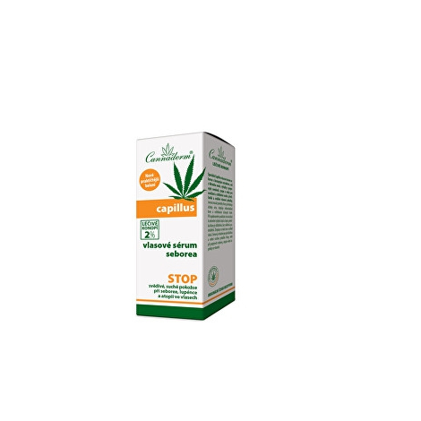 Cannaderm CAPILLUS vlasové sérum seborea 40 ml - Simply you pharmaceuticals