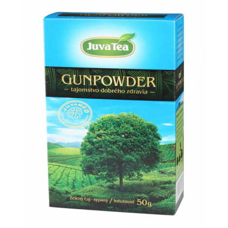 Juvamed GUNPOWDER sypaný čaj 50 g - JUVAMED