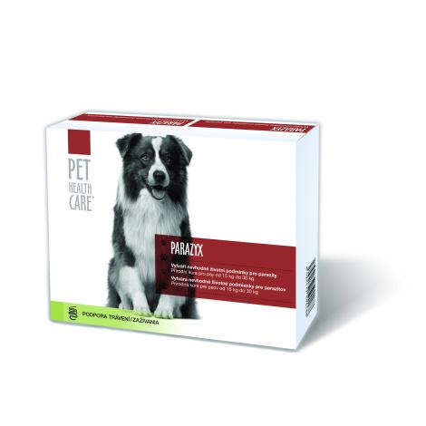 PARAZYX tablety pre psov a mačky od 15 kg 44 tbl - FARMACIA CARE s.r.o.