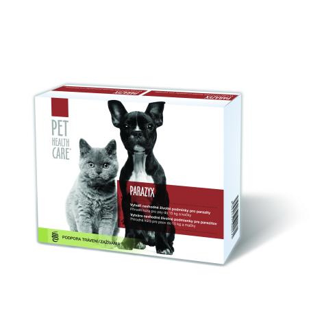 PARAZYX tablety pre psov a mačky do 15 kg 22 tbl + NIX gél na ruky 50 ml za 0,01€ - FARMACIA CARE s.r.o.