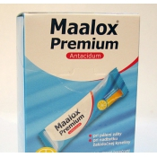 Maalox suspenzia citrón 20x4,3 ml