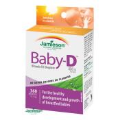 Jamieson Baby-D Vitamín D3 400 IU kvapky 11,7 ml