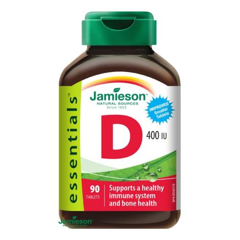 Jamieson Vitamín D3 400 IU 90 tbl