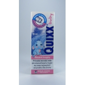 Quixx baby nosové kvapky 10 ml